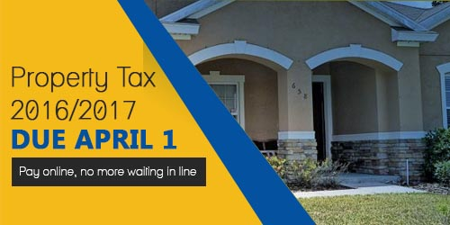 Property Tax Banner