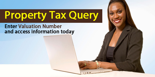 Property Tax Query Banner