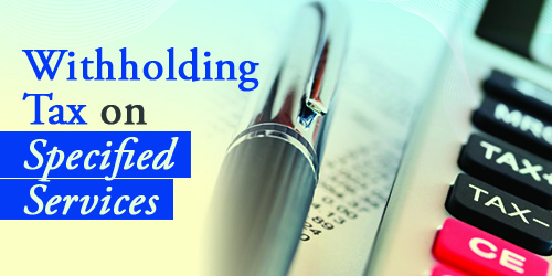 Withholding Tax Banner